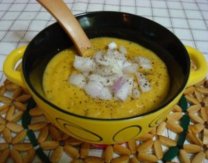 fava red lentil puree