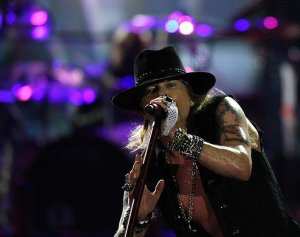 Axl Rose on stage!