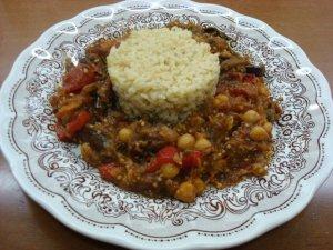 eggplant chickpeas stew