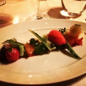 tomato sorbet salad