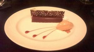 chocolate caramel dessert